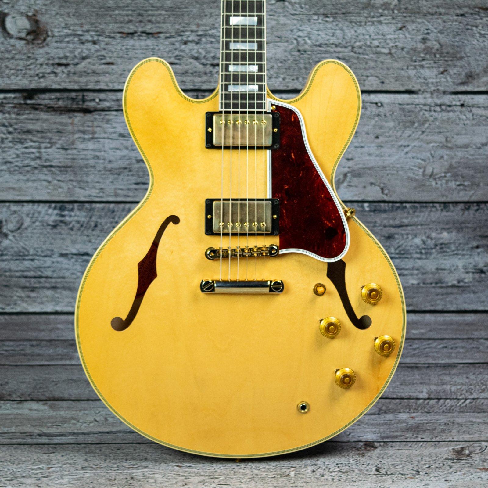 Gibson Custom 1959 ES-355 Stop Bar VOS - Vintage Natural