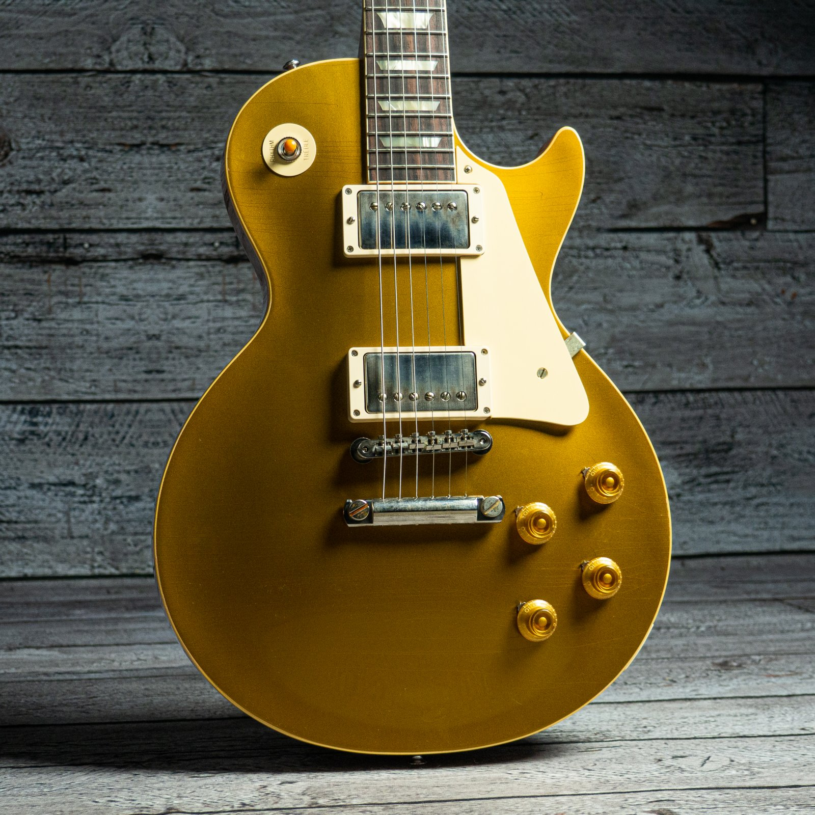 Gibson Custom Murphy Lab 1957 Les Paul Goldtop Reissue Ultra Light Aged - Double Gold (Serial: 70848)
