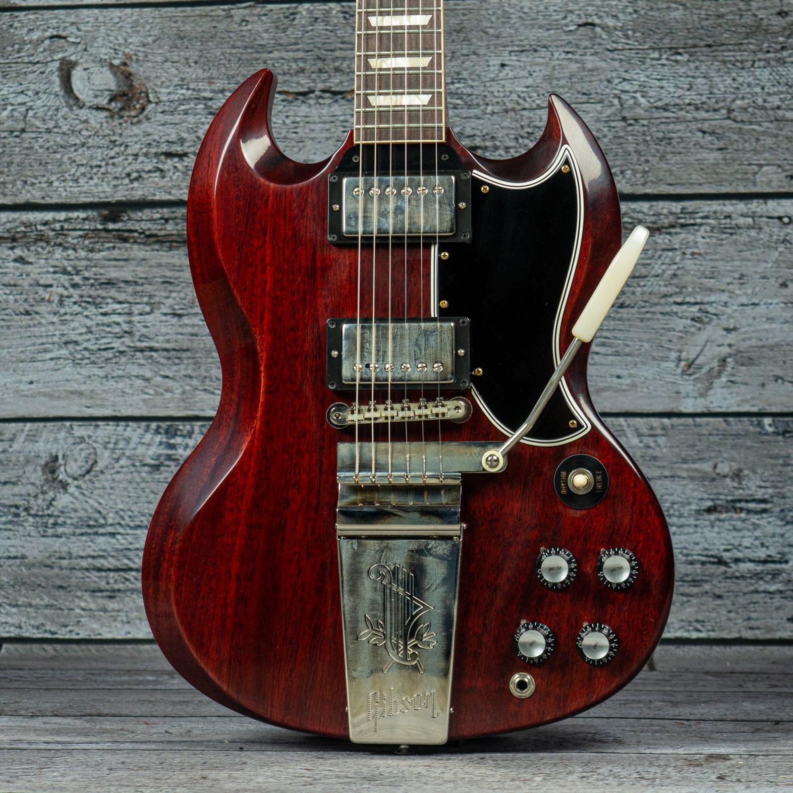 Gibson Custom Shop '64 SG Standard Reiusse w/ Maestro