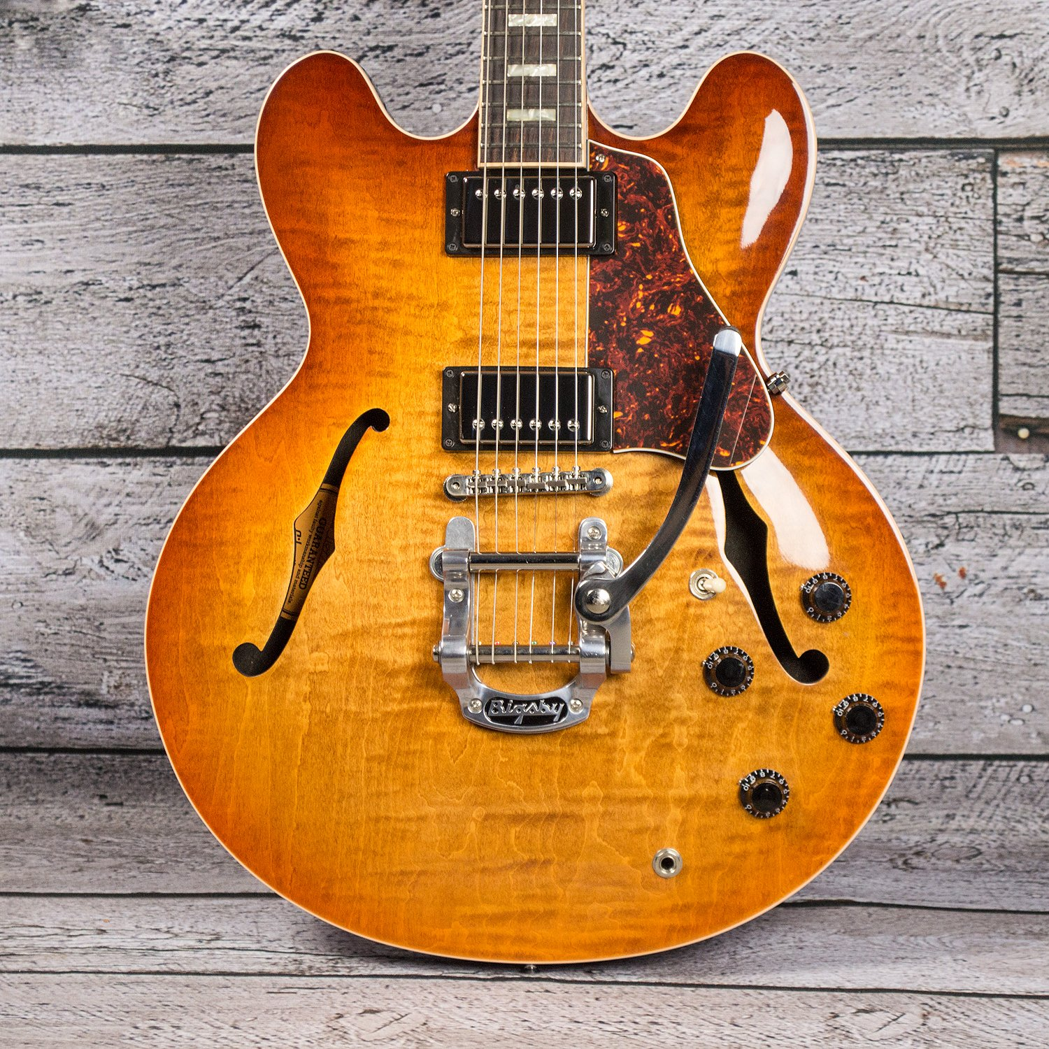 Gibson ES-335 Figured w/ Bisgby (USED) - HOLD