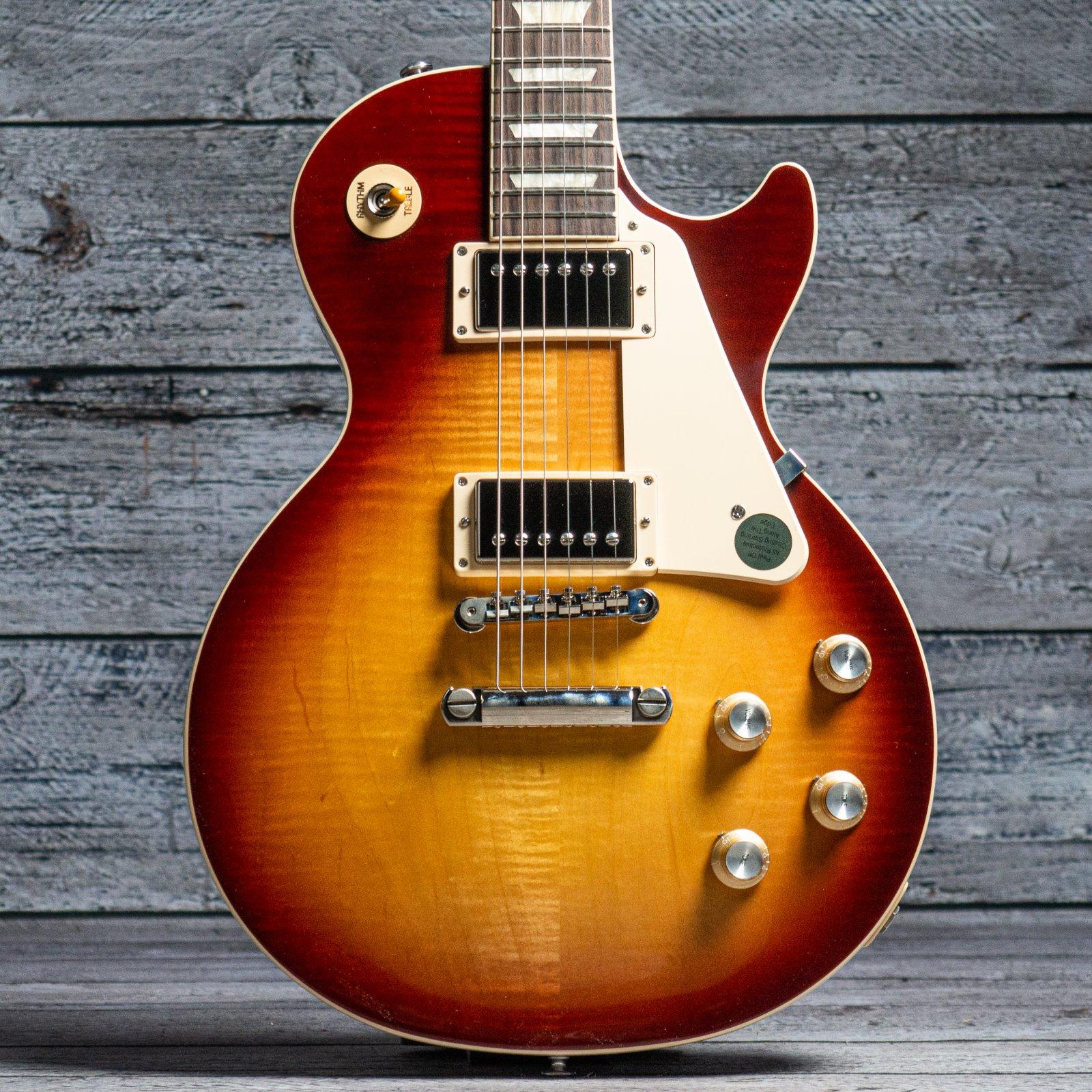 Gibson Les Paul Standard '60s Figured Top - Bourbon Burst (Serial: 200810127)