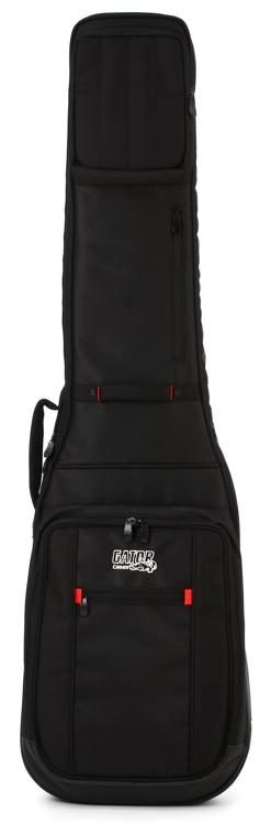 Gator Pro-Go Series Bass Guitar Bag with Micro Fleece Interior and Removable Backpack Straps