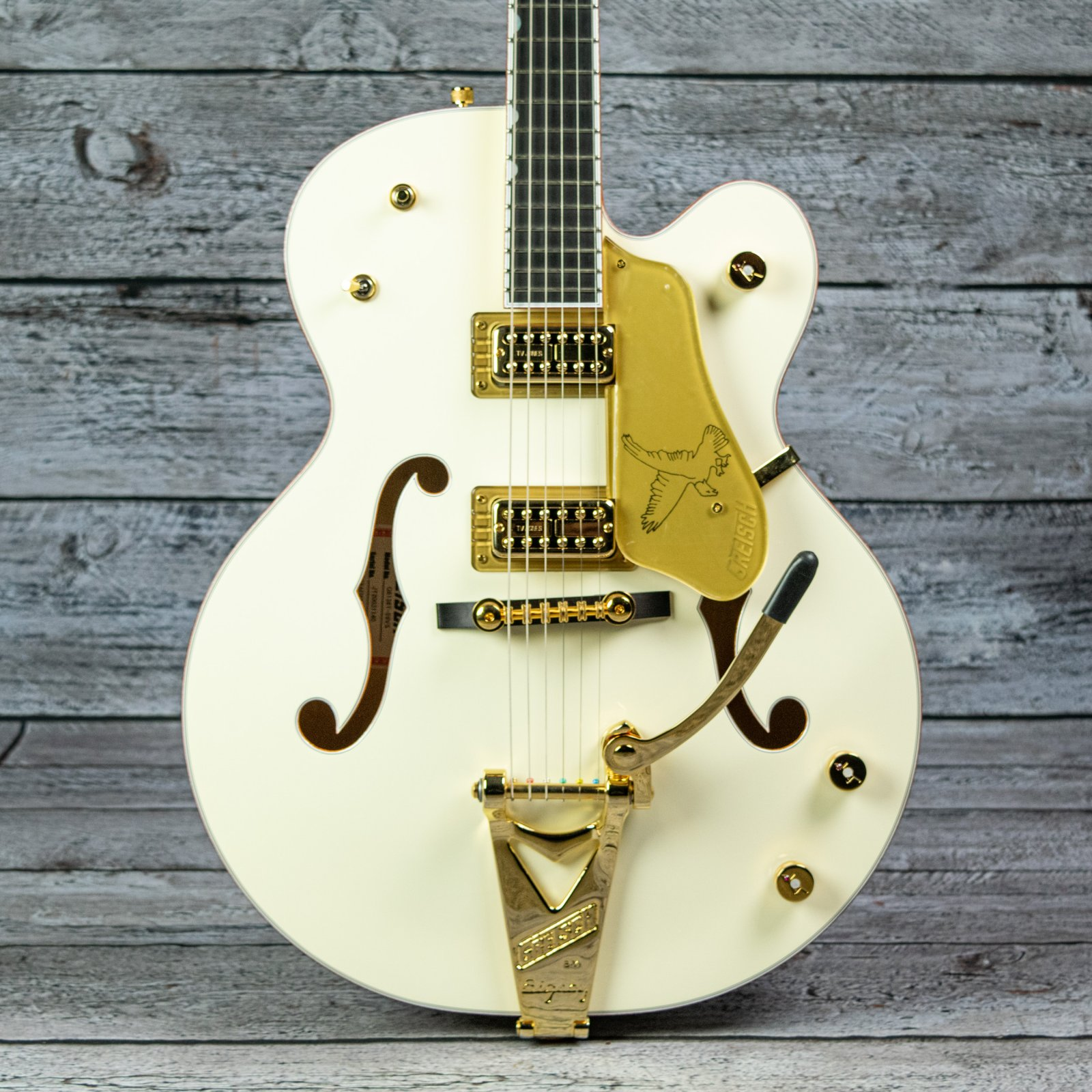 Gretsch G6136T-59 Vintage Select Edition '59 White Falcon Hollow Body with Bigsby