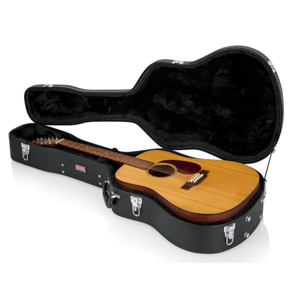 Gator Hard-Shell Wood Case for Dread/12-String Guitars