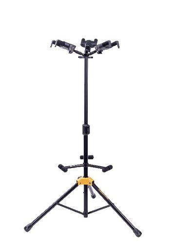 Hercules GS432B Plus - Triple Guitar Stand with Upgraded AGS Yoke