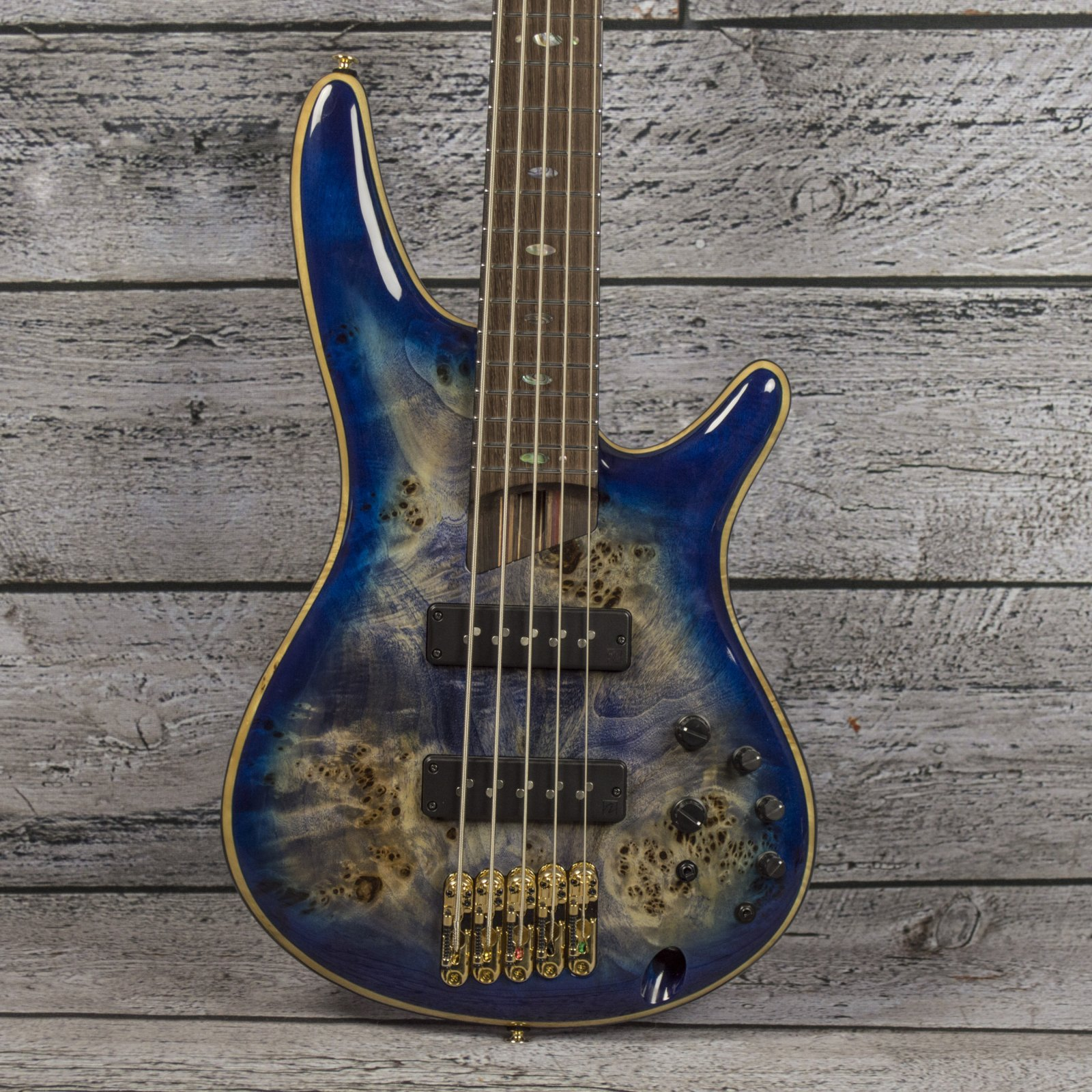 Ibanez Premium SR2605 - Cerulean Blue Burst