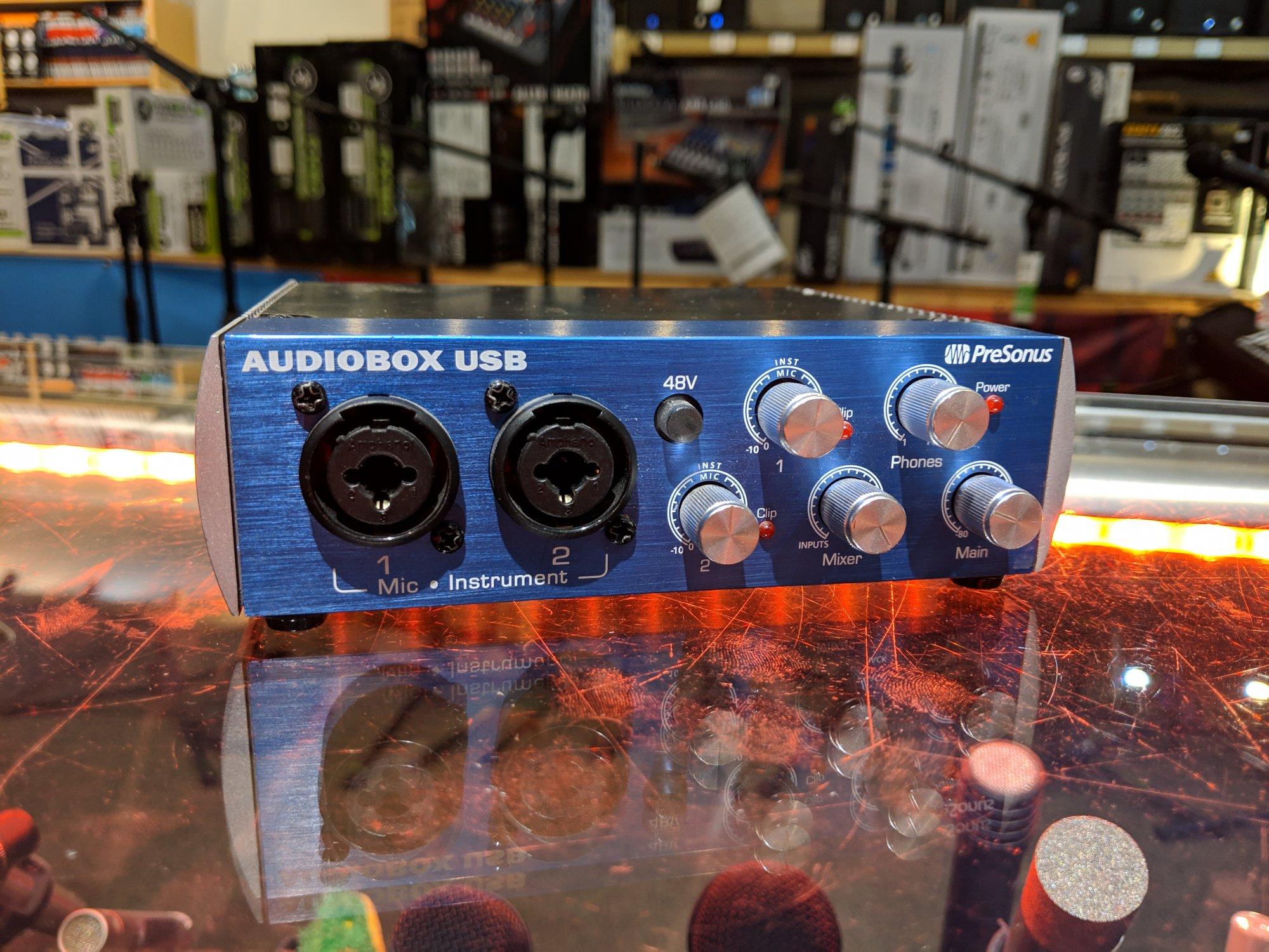Presonus Audiobox USB (USED)