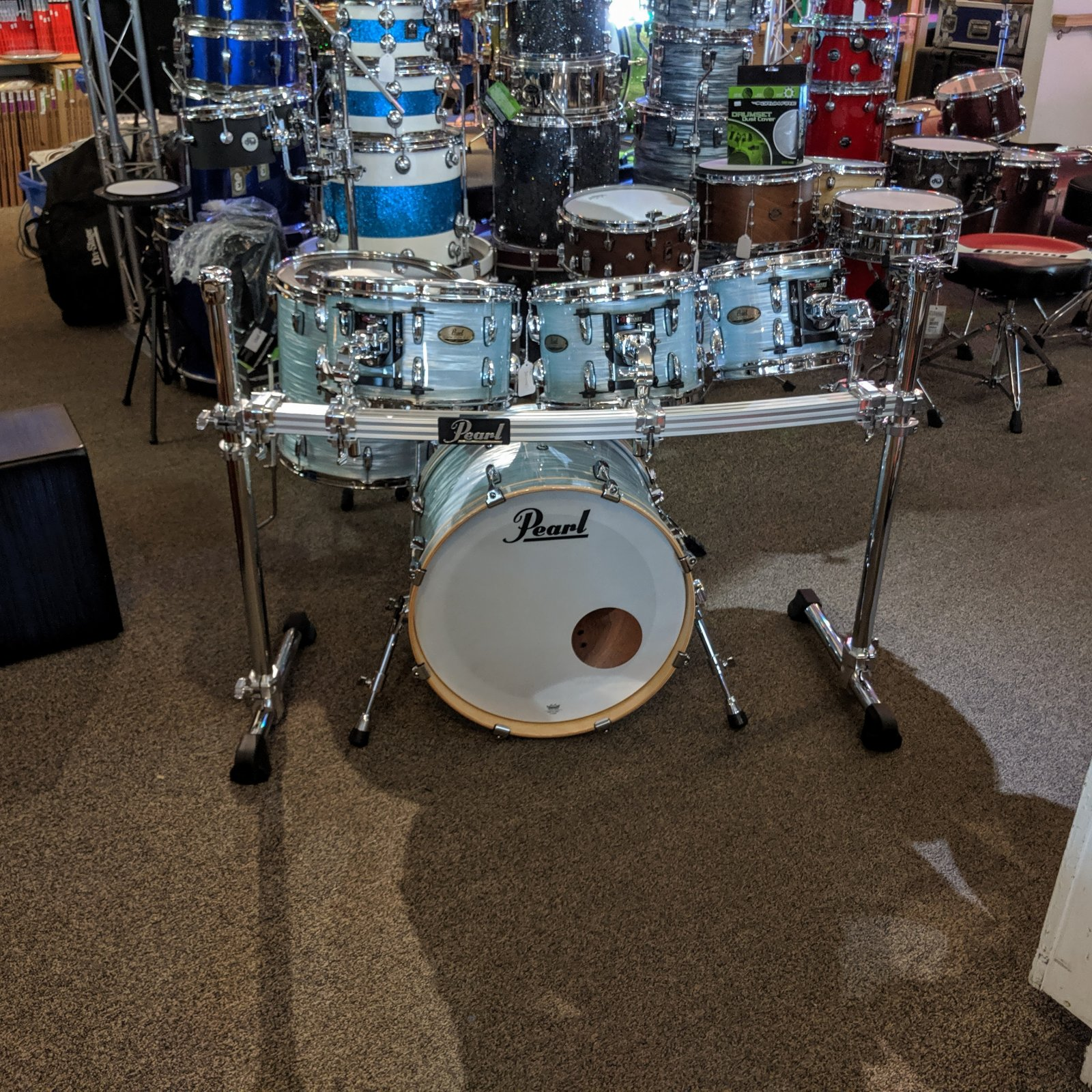 Pearl Session Studio Select w/ Rack (USED)