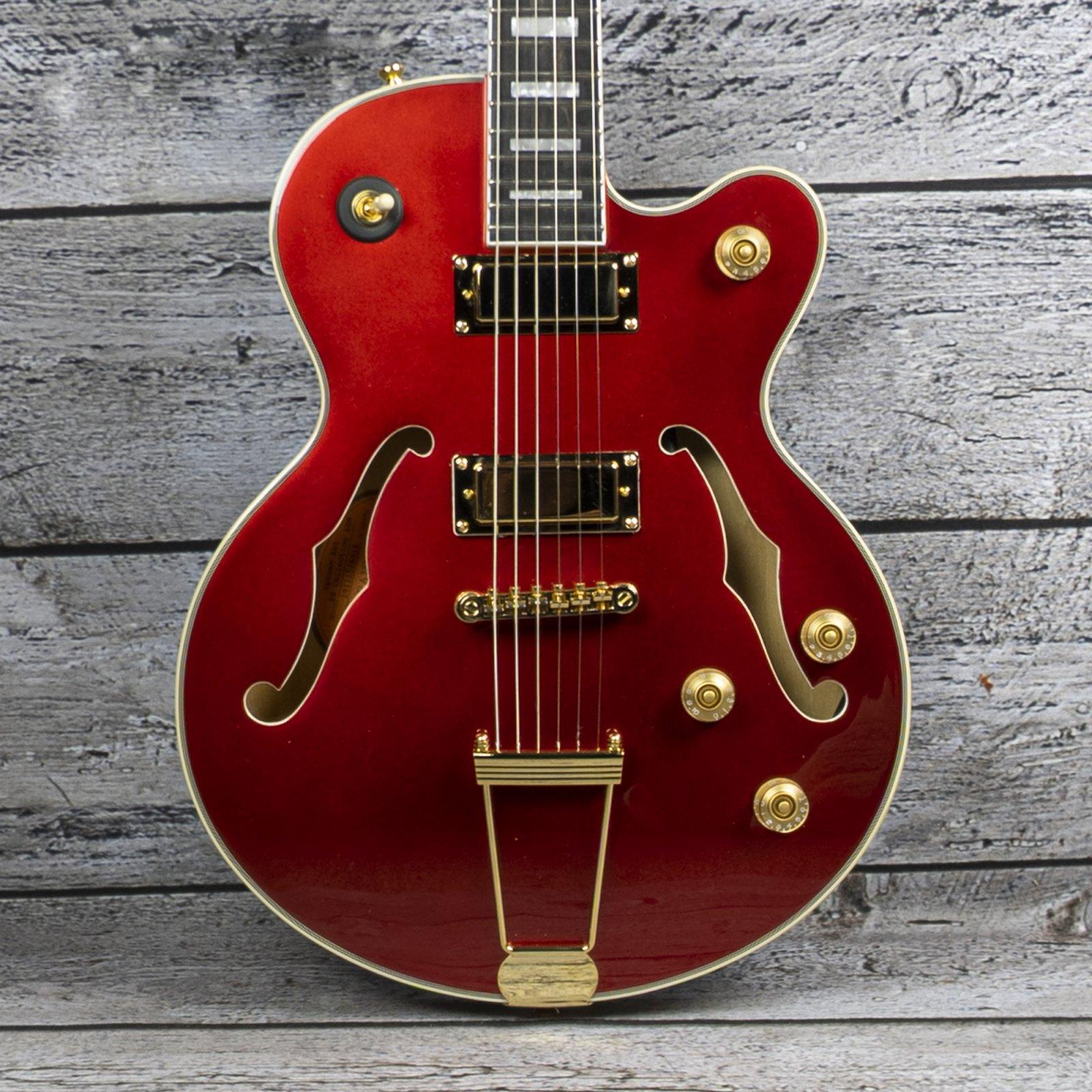 Epiphone Uptown Kat ES - Ruby Red Metallic