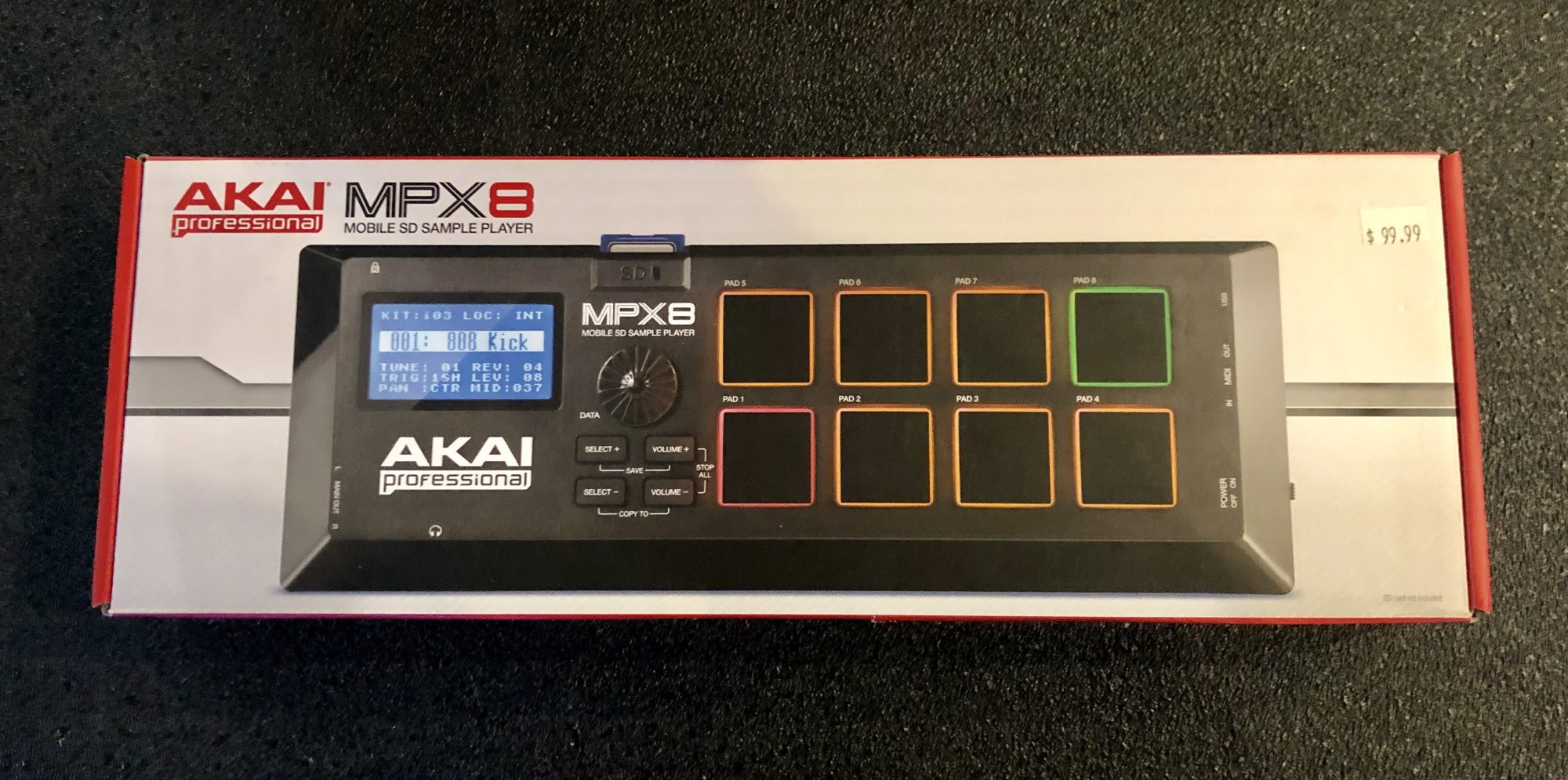 Akai MPX8 (USED)
