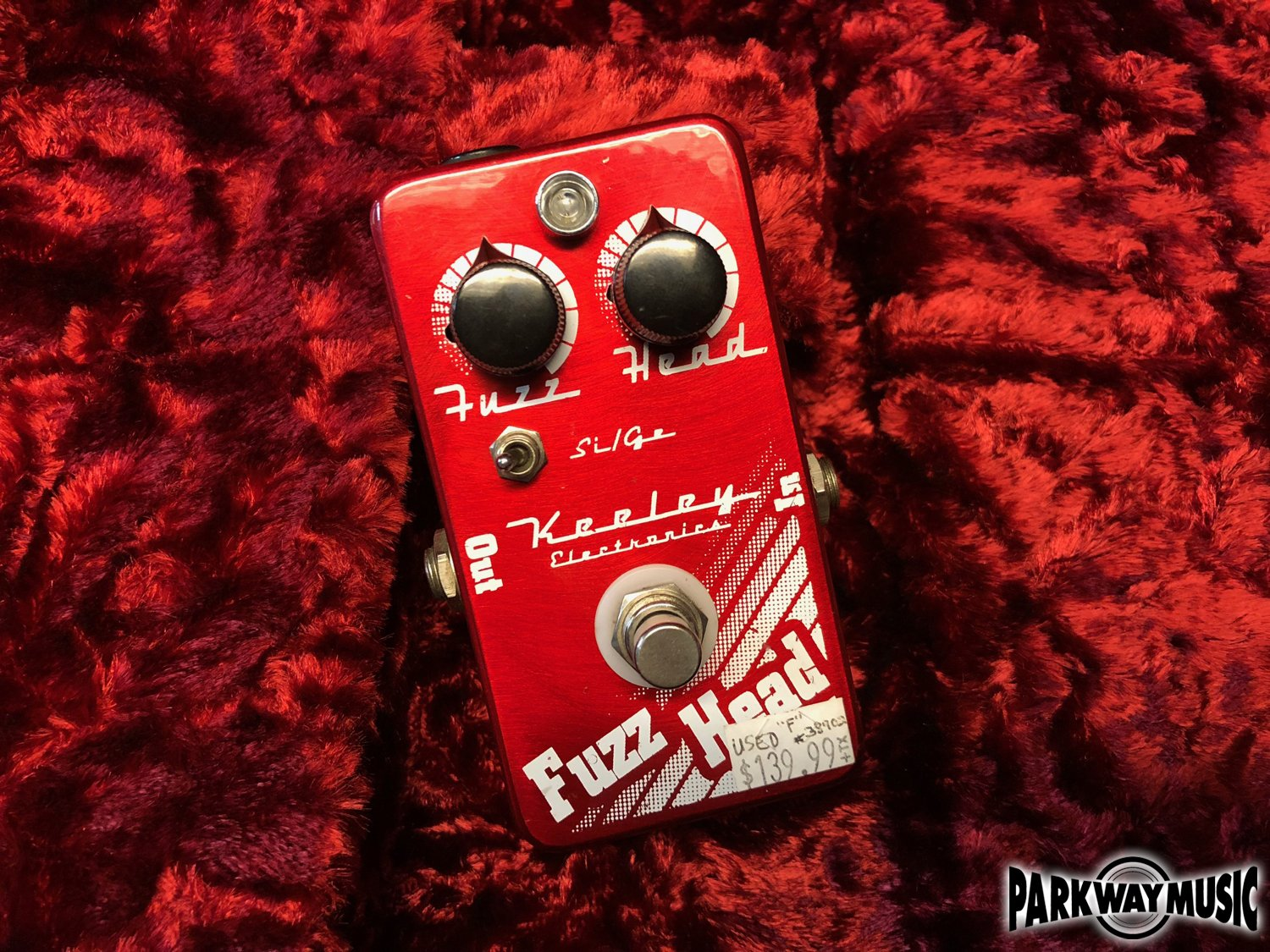 Keeley Fuzz Head (USED)