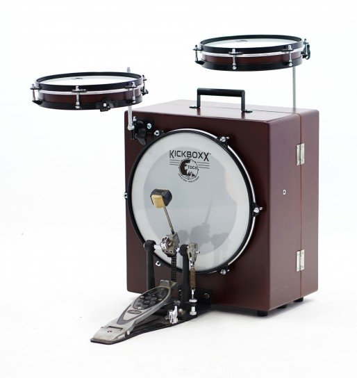 Toca Kickboxx Suitcase Drum Set