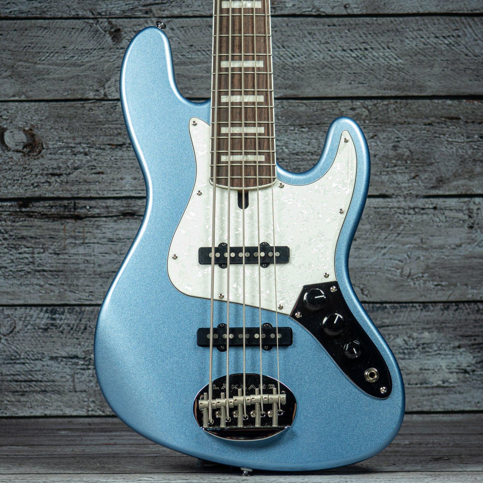 Lakland Skyline 55-60 Custom Vintage J - Lake Placid Blue - HOLD