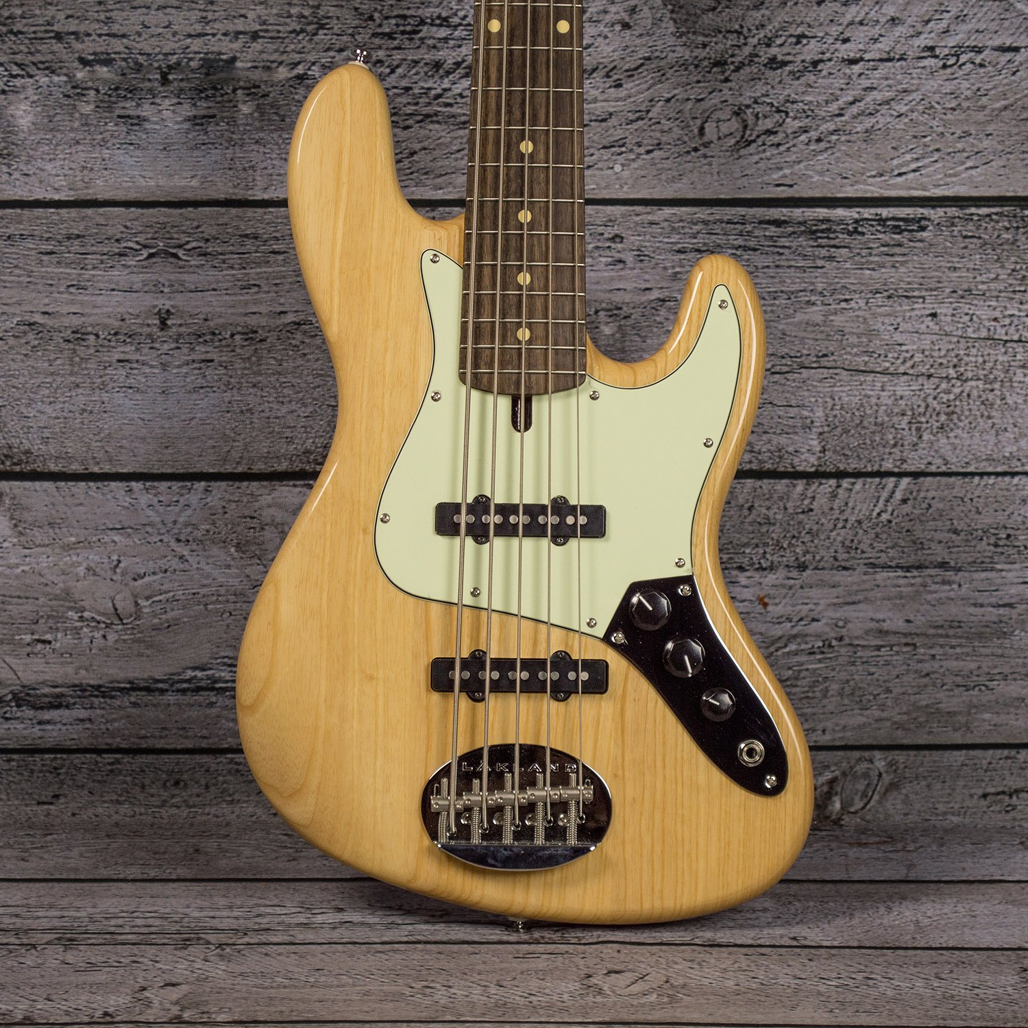 Lakland Skyline 55-60 - Natural Ash with Laurel Fingerboard