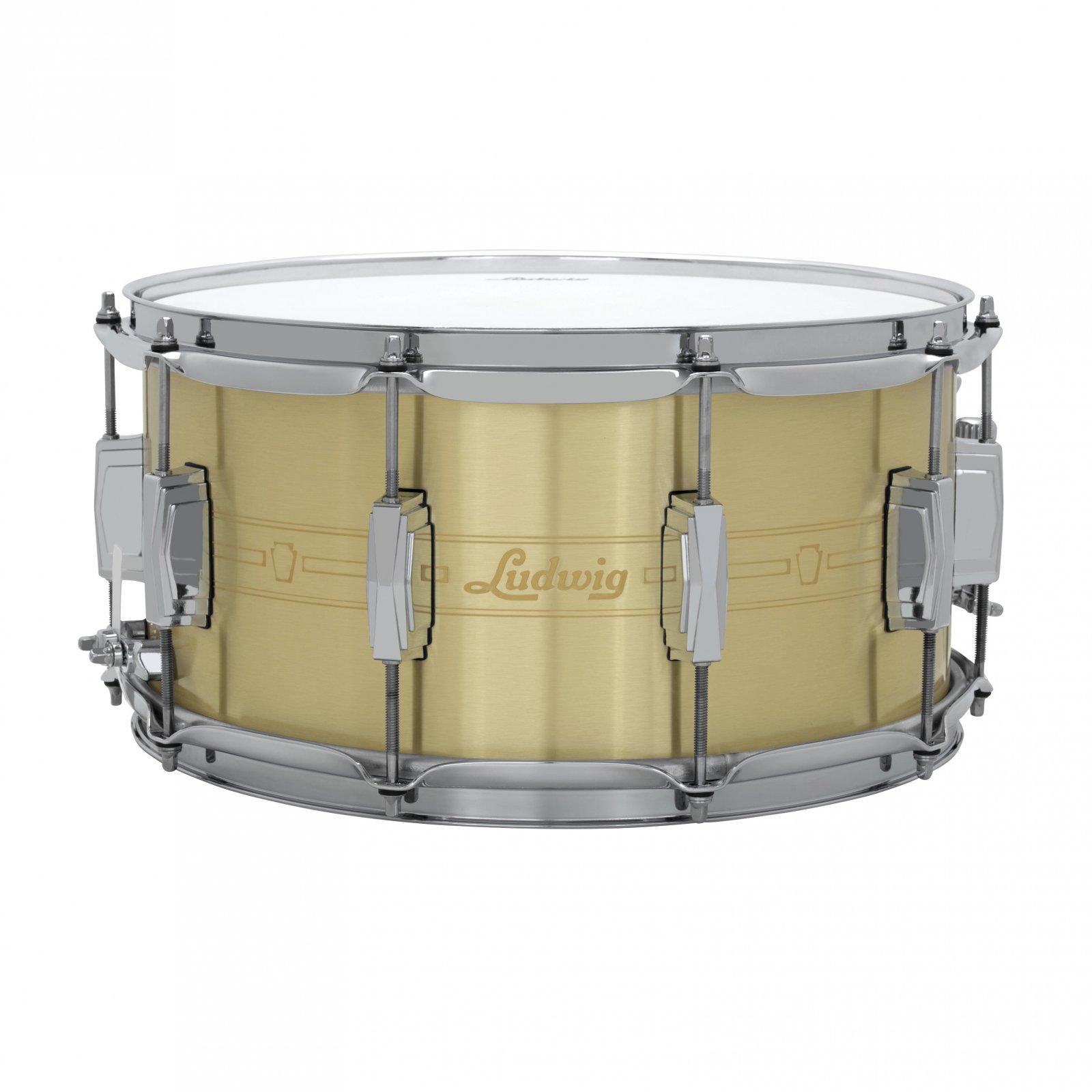 Ludwig Heirloom Brass Snare - 7x14