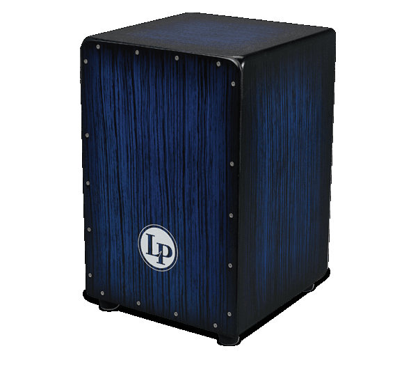 LP Aspire Cajon Blue Burst Streak