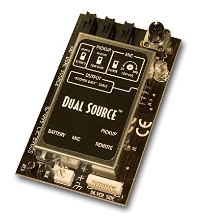 L.R. Baggs Dual Source Element Onboard Pickup /Mic Mixing System