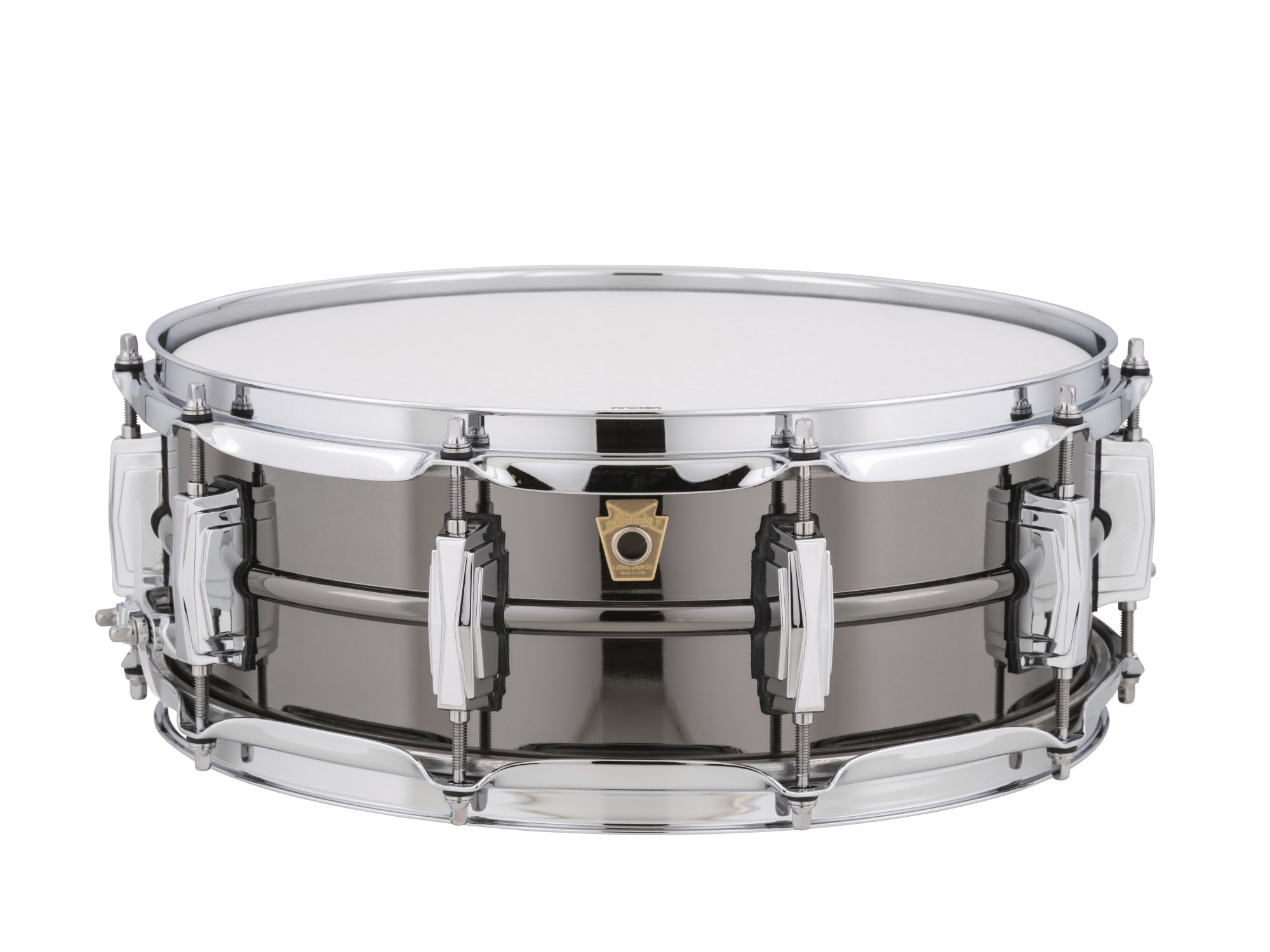 Ludwig 5 x 14 Black Beauty Brass Snare Drum