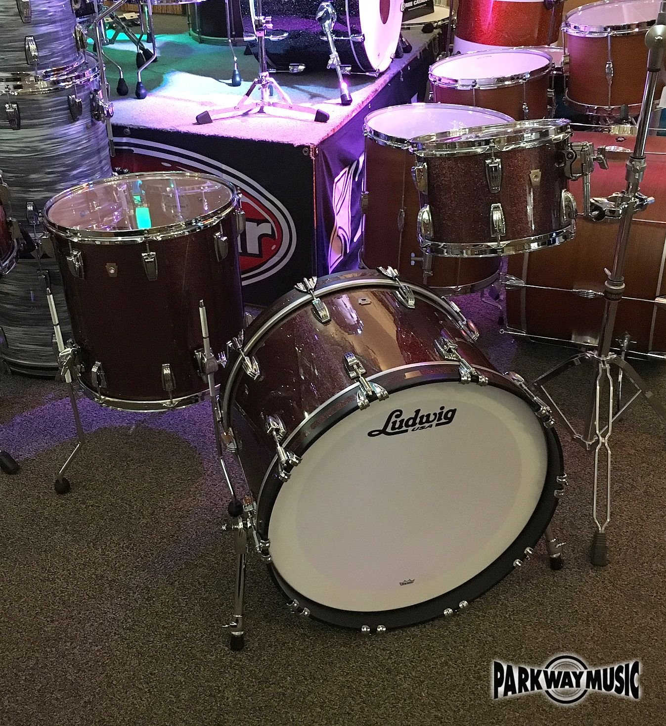 Ludwig Classic Maple 3pc