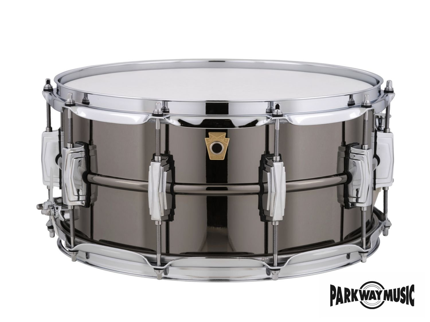 Ludwig 6 1/2 x 14 Black Beauty Brass Snare Drum