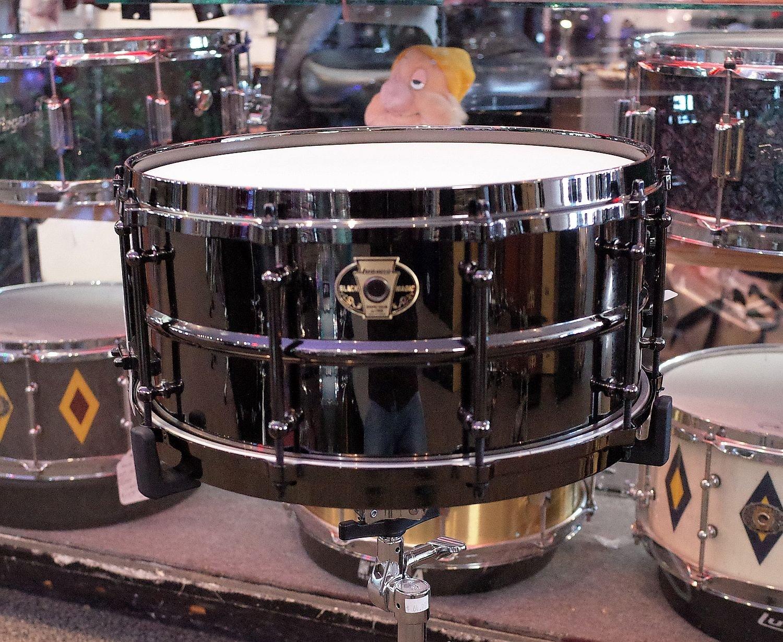 Ludwig Black Magic 6.5x14 Snare Drum (USED)