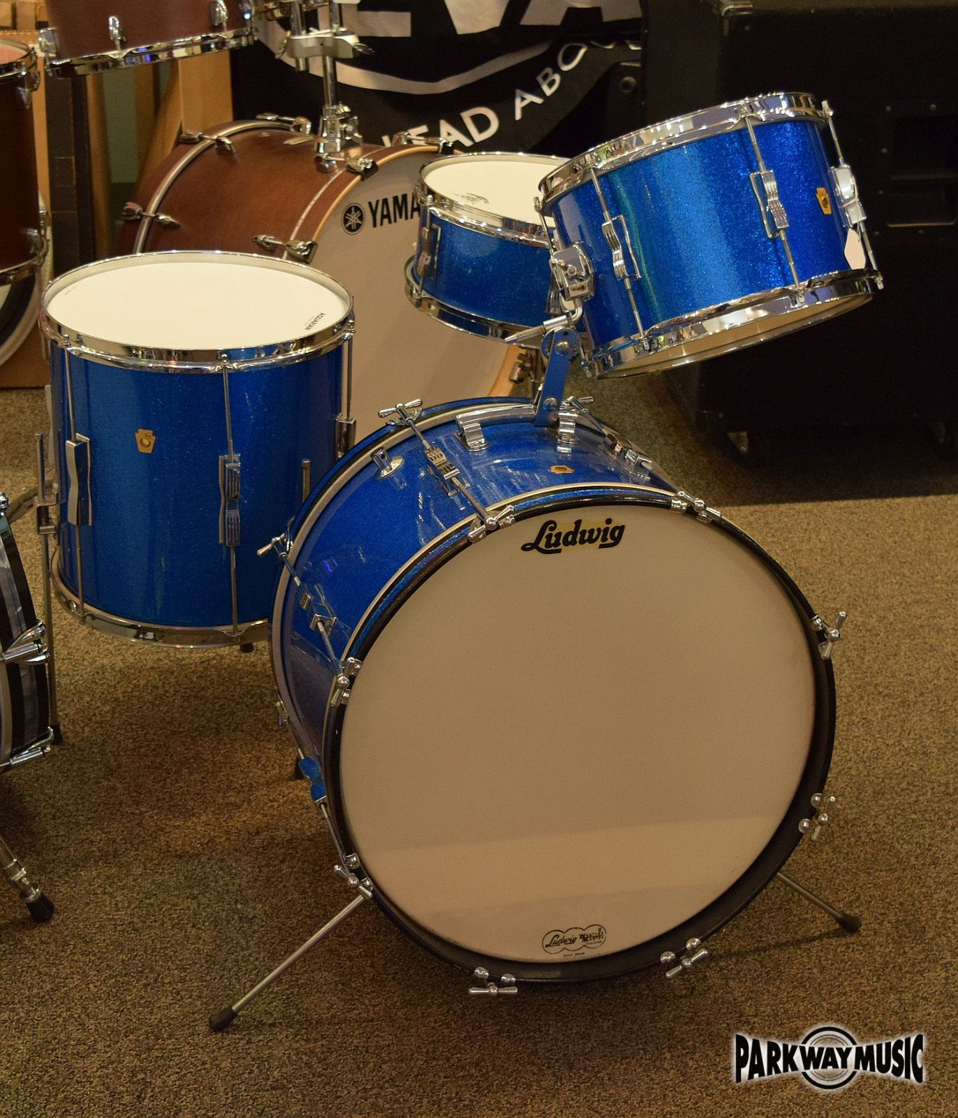 Ludwig Club Date 1965 4 pc  (USED) SOLD