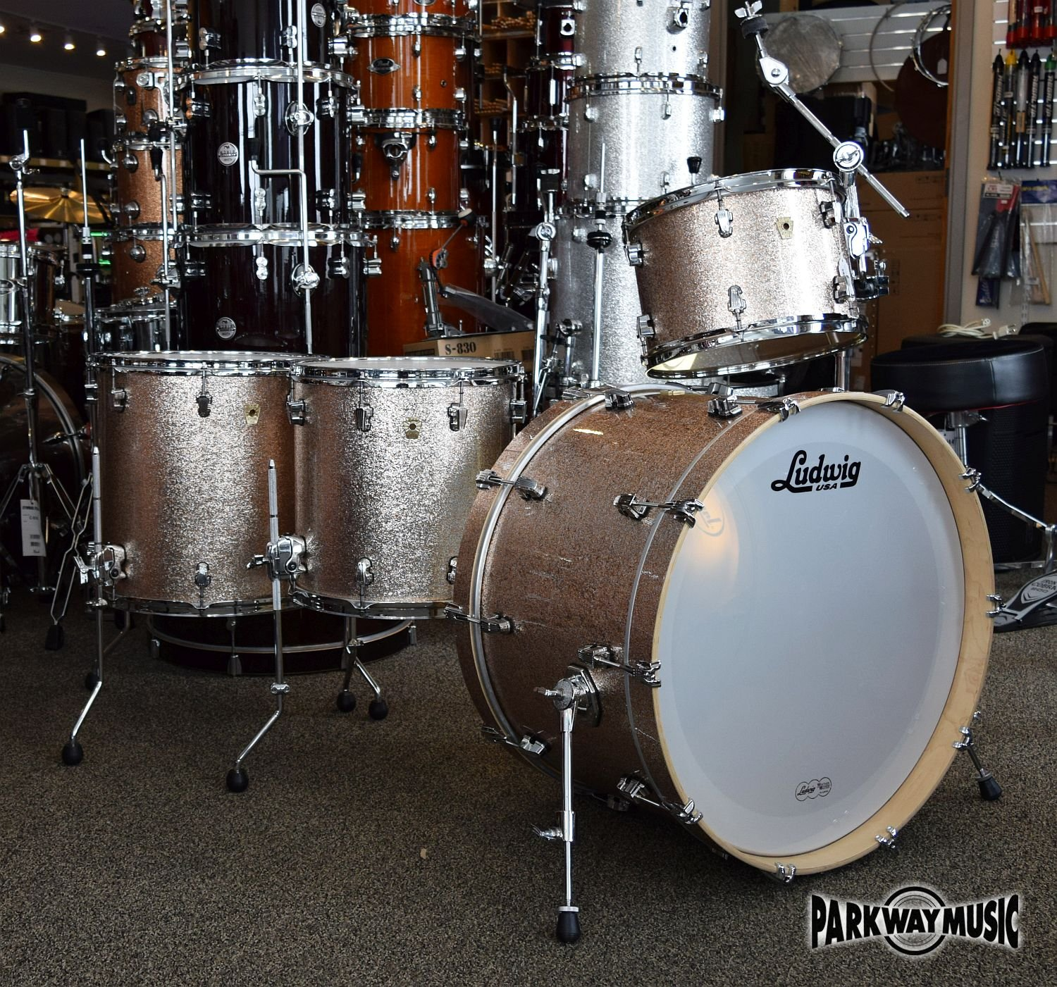 Ludwig Keystone 4pc Drum Set (USED) - SOLD