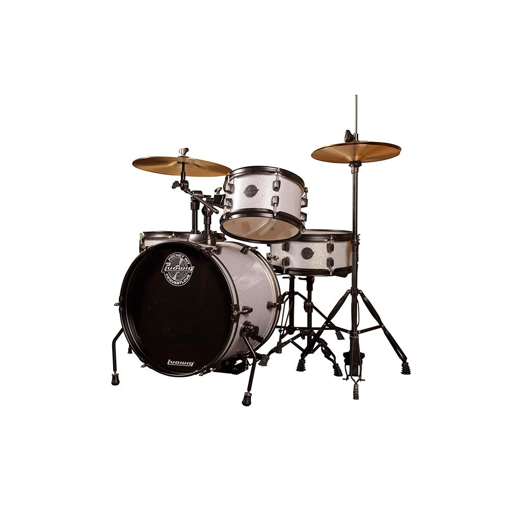 Ludwig Pocket Drum Set White Sparkle
