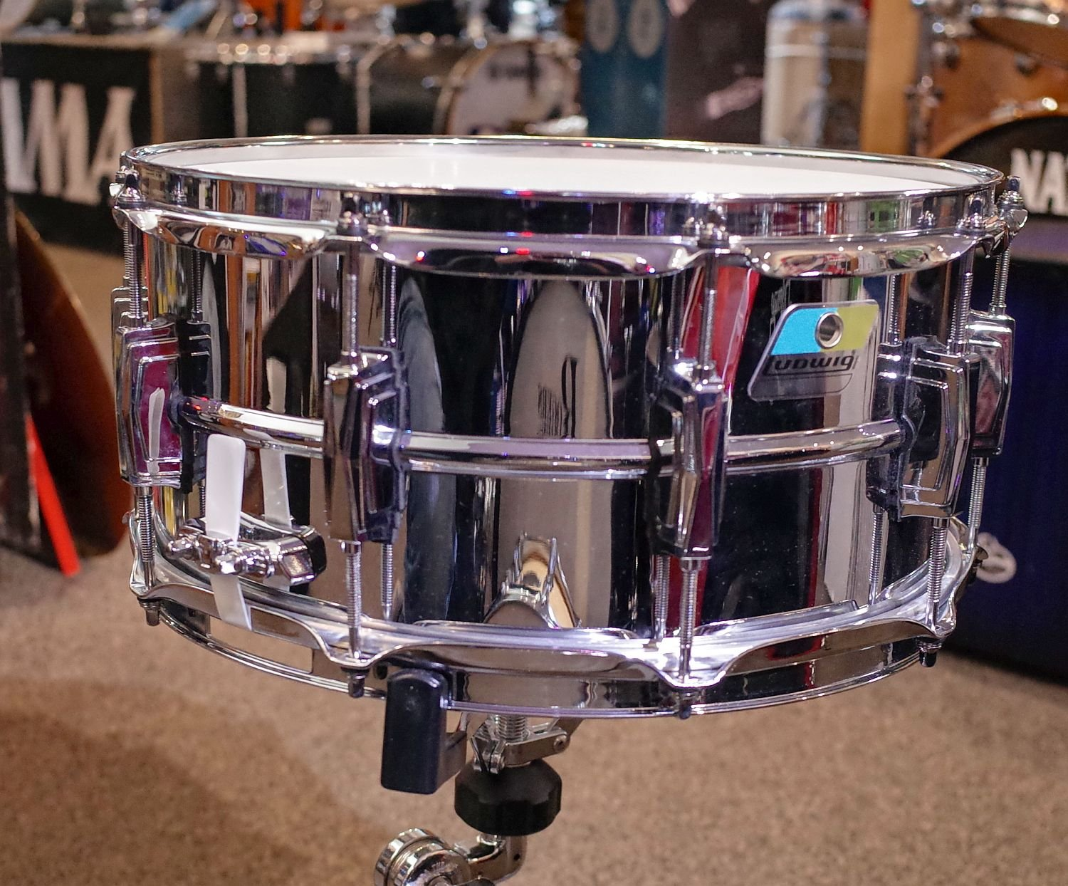 Ludwig 6.5 x 14 Supra-Phonic Snare Drum B Stock