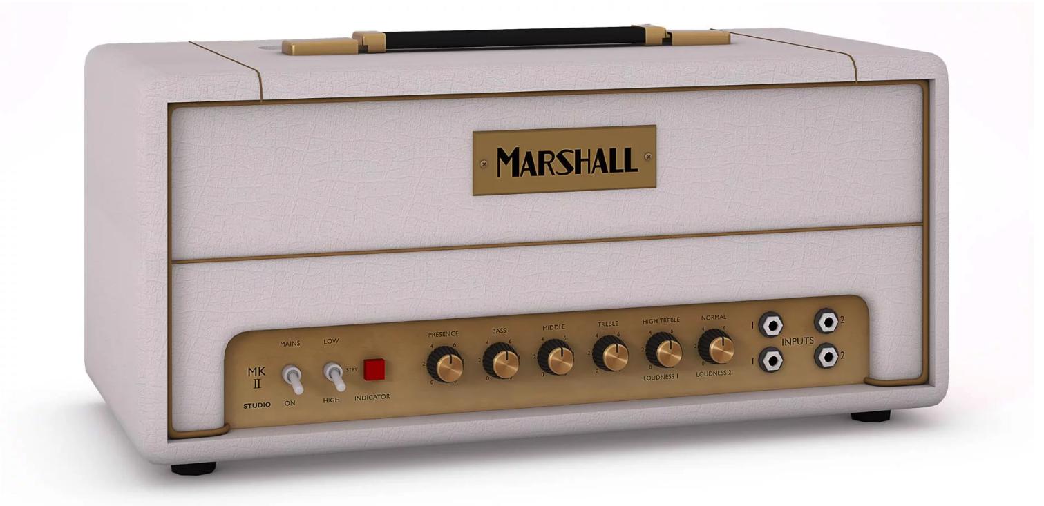 Marshall SV20HWH Studio Vintage 20/5 Watt Head (COMING SOON)