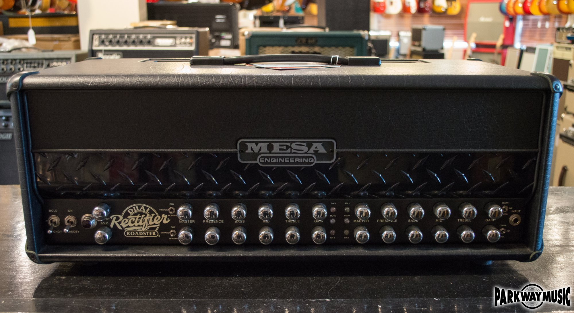 Mesa Boogie Dual Rectifier Roadster Head (USED)