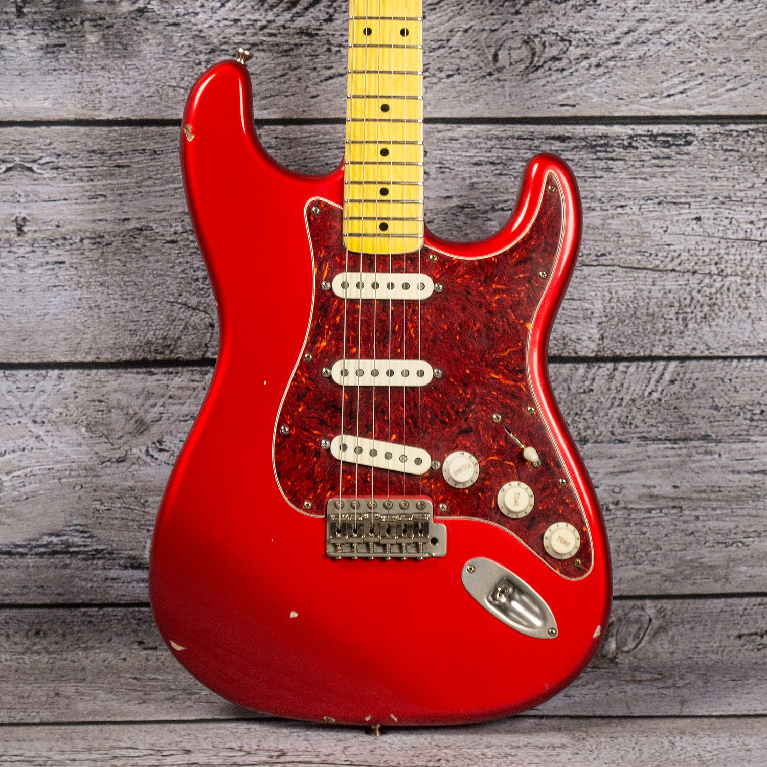 Nash S67 - Candy Apple Red (Matching Headstock)