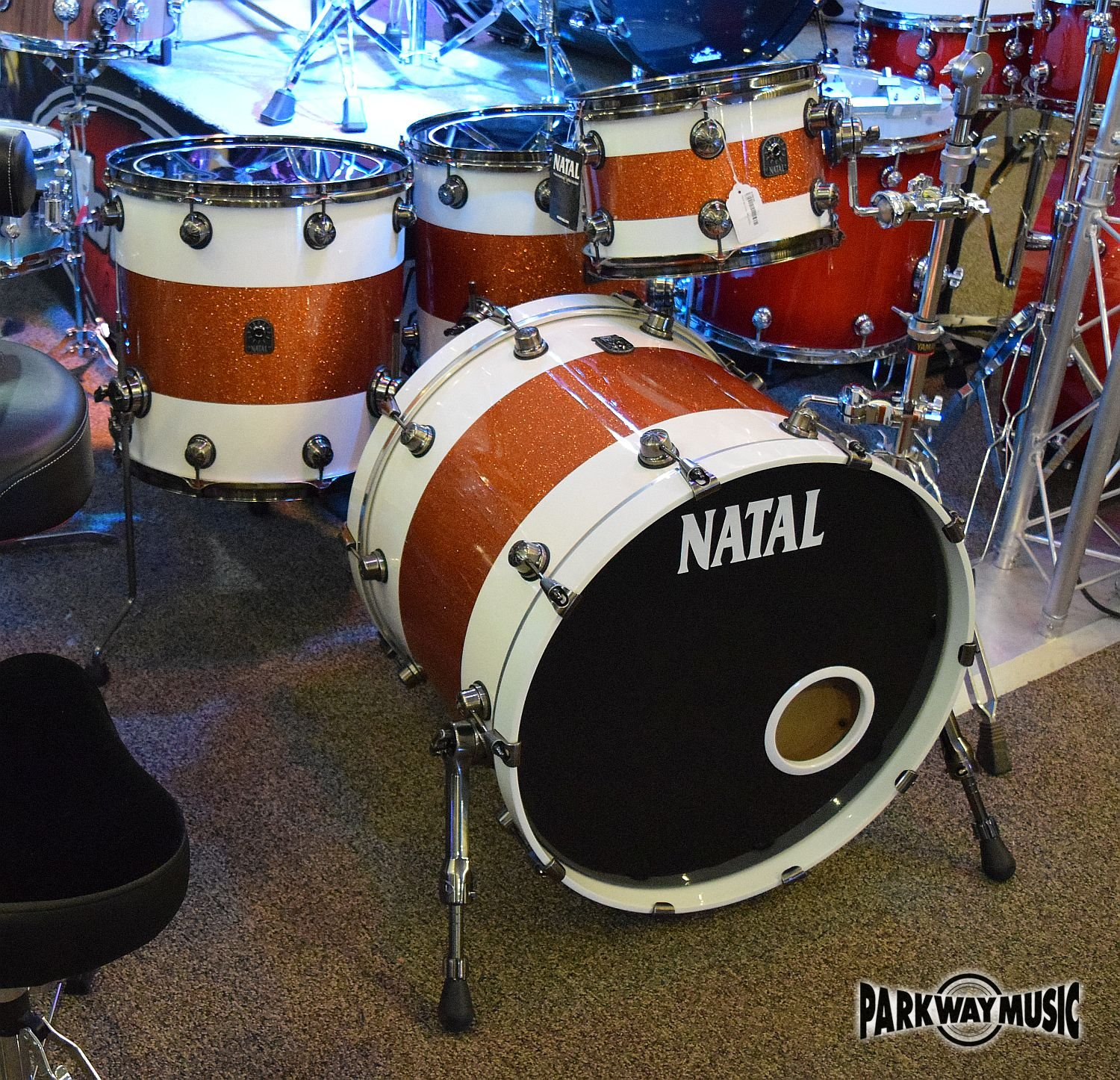 Natal 4pc Drum Set (USED)