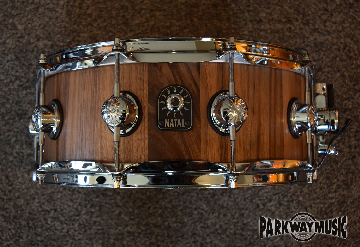 Natal Pure Stave Walnut Snare drum
