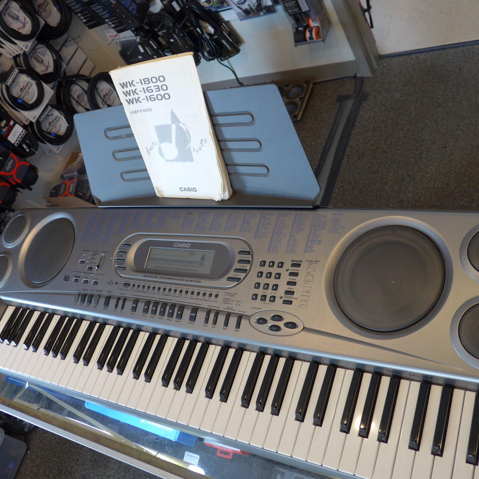 Casio WK1630 76 key (USED)