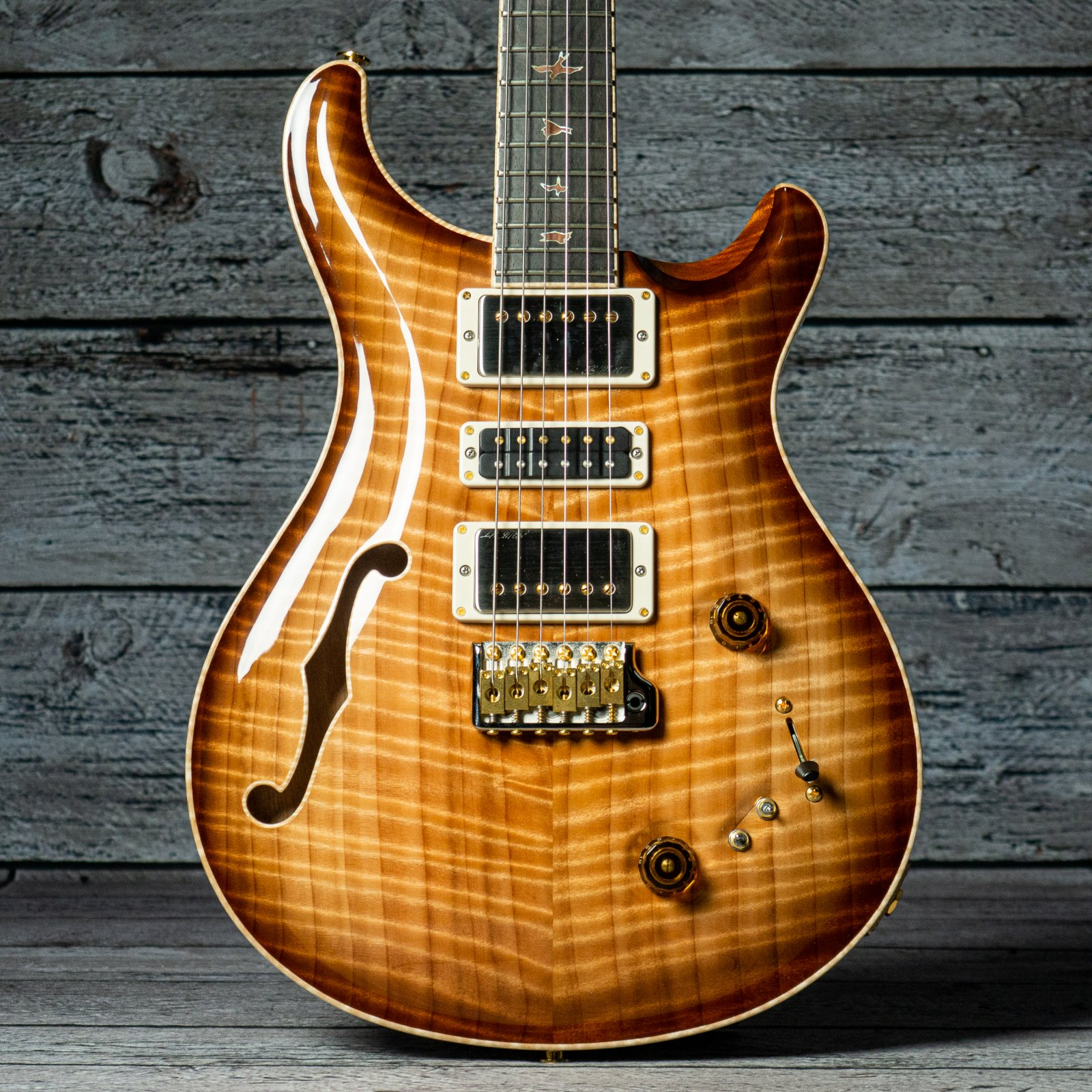 Paul Reed Smith Private Stock Special Semi-Hollow - Figured Redwood Smoke Burst