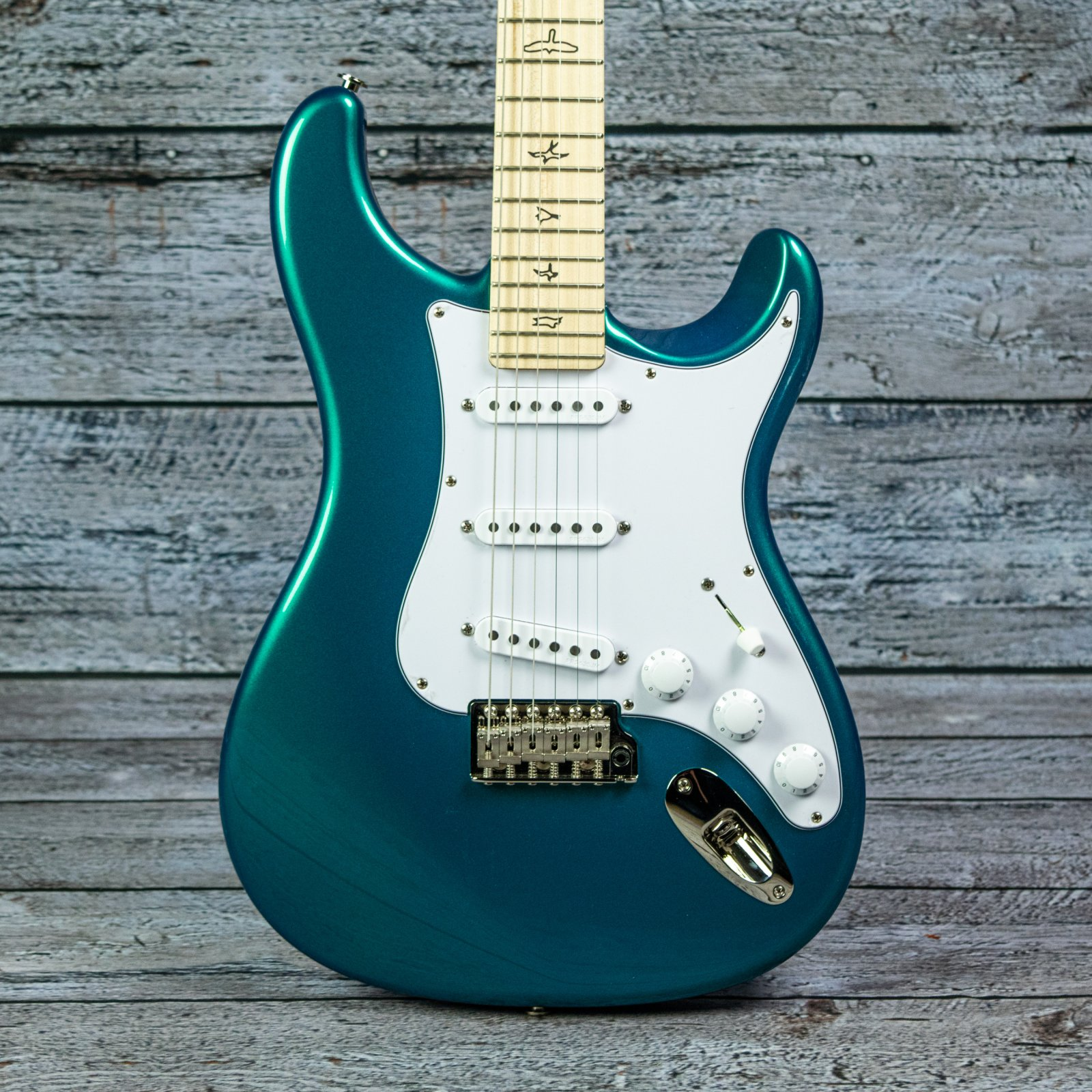 PRS Silver Sky - Maple Fingerboard, Dodgem Blue