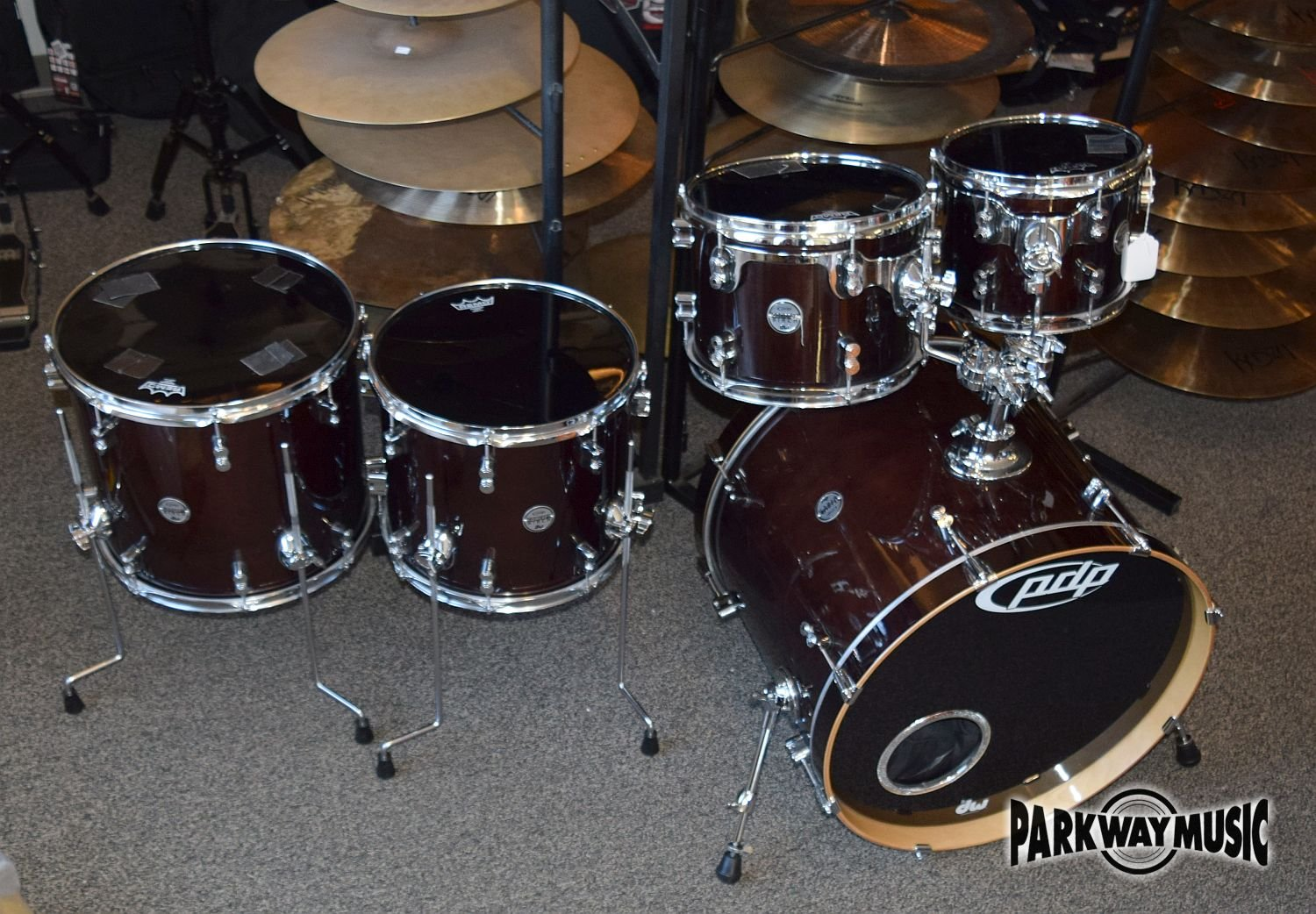 PDP Concept Birch 5pc Drum Set (USED) - HOLD