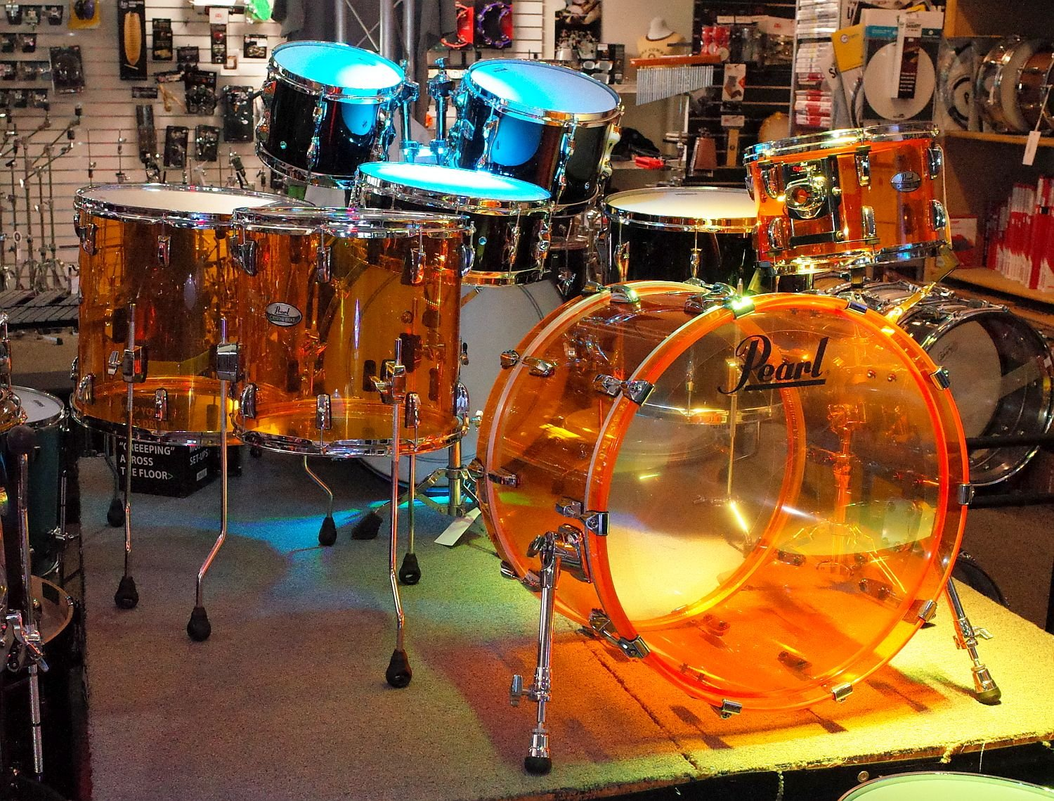 Pearl Crystal Beat 4pc