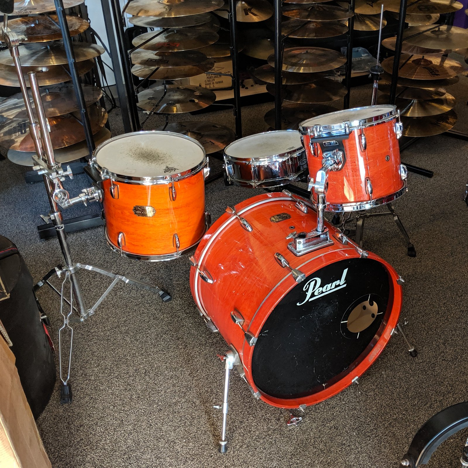 Pearl Export 4pc with Hardware (USED)