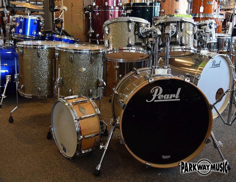 Pearl Masters Maple 6pc Drum Set (USED)