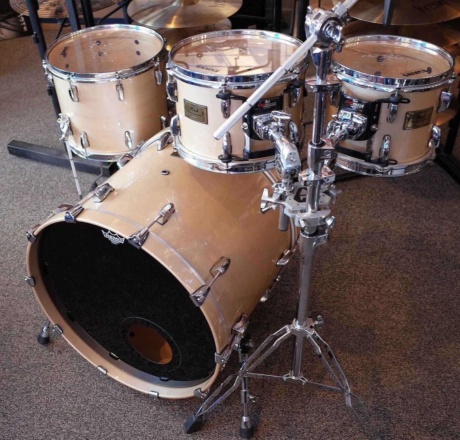 Pearl Masters MMX 4pc Drum Set (USED)