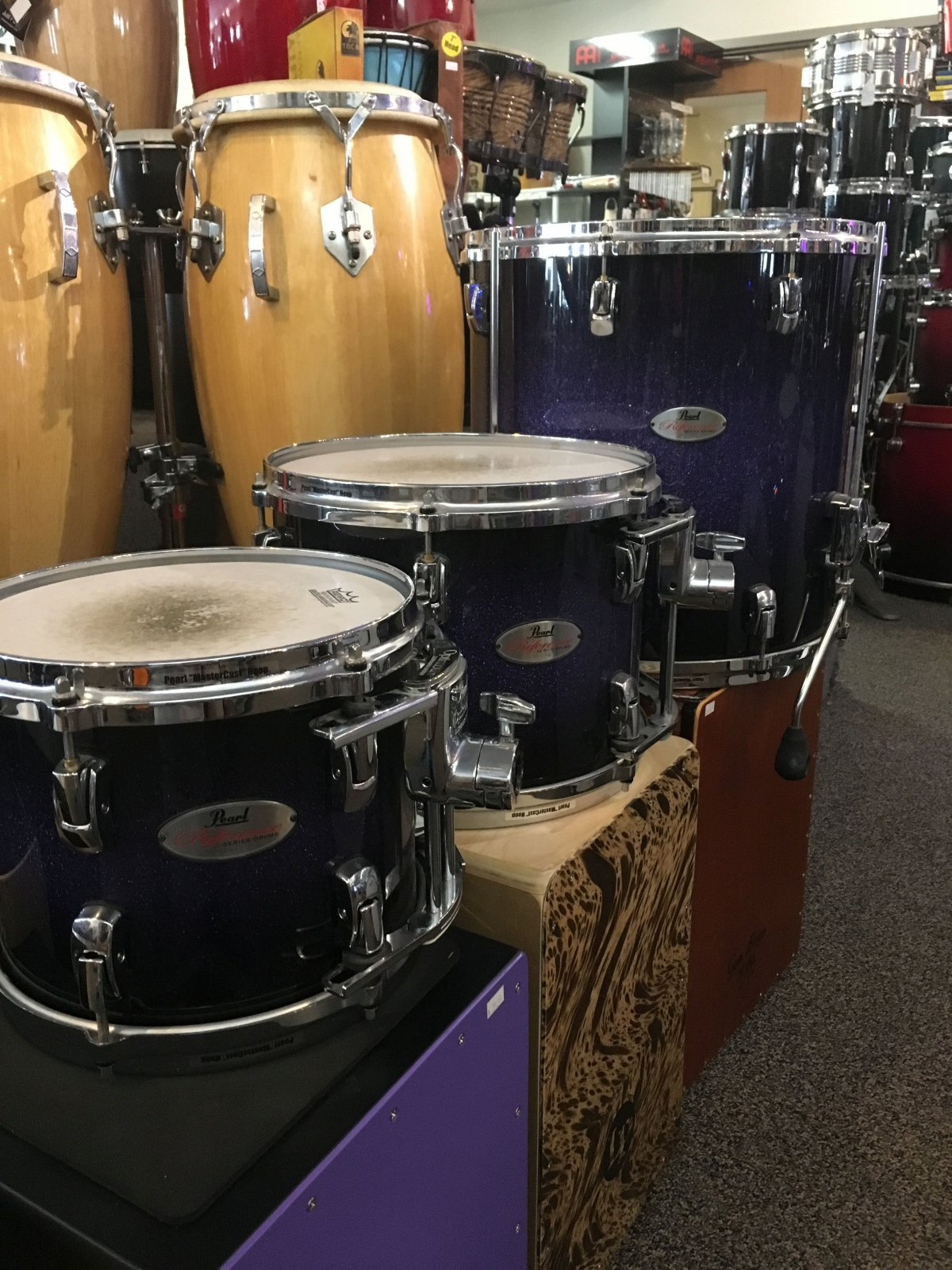 Pearl Reference Series 4 pc Shell Pack ( USED) - SOLD