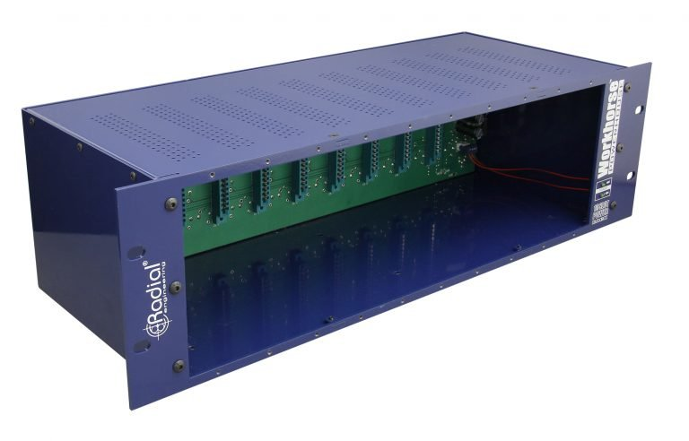 Radial Workhorse Powerhouse 500 Series 10-Module Rack
