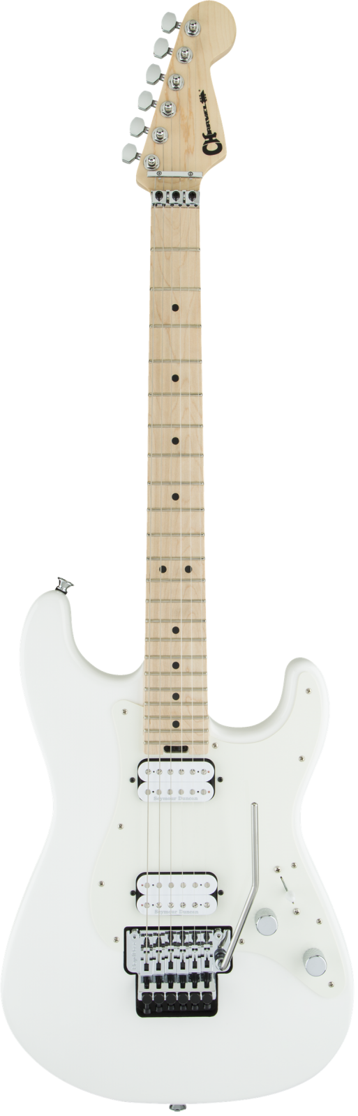 Charvel Pro-Mod So-Cal Style 1 HH FR M - Maple Fingerboard, Snow White