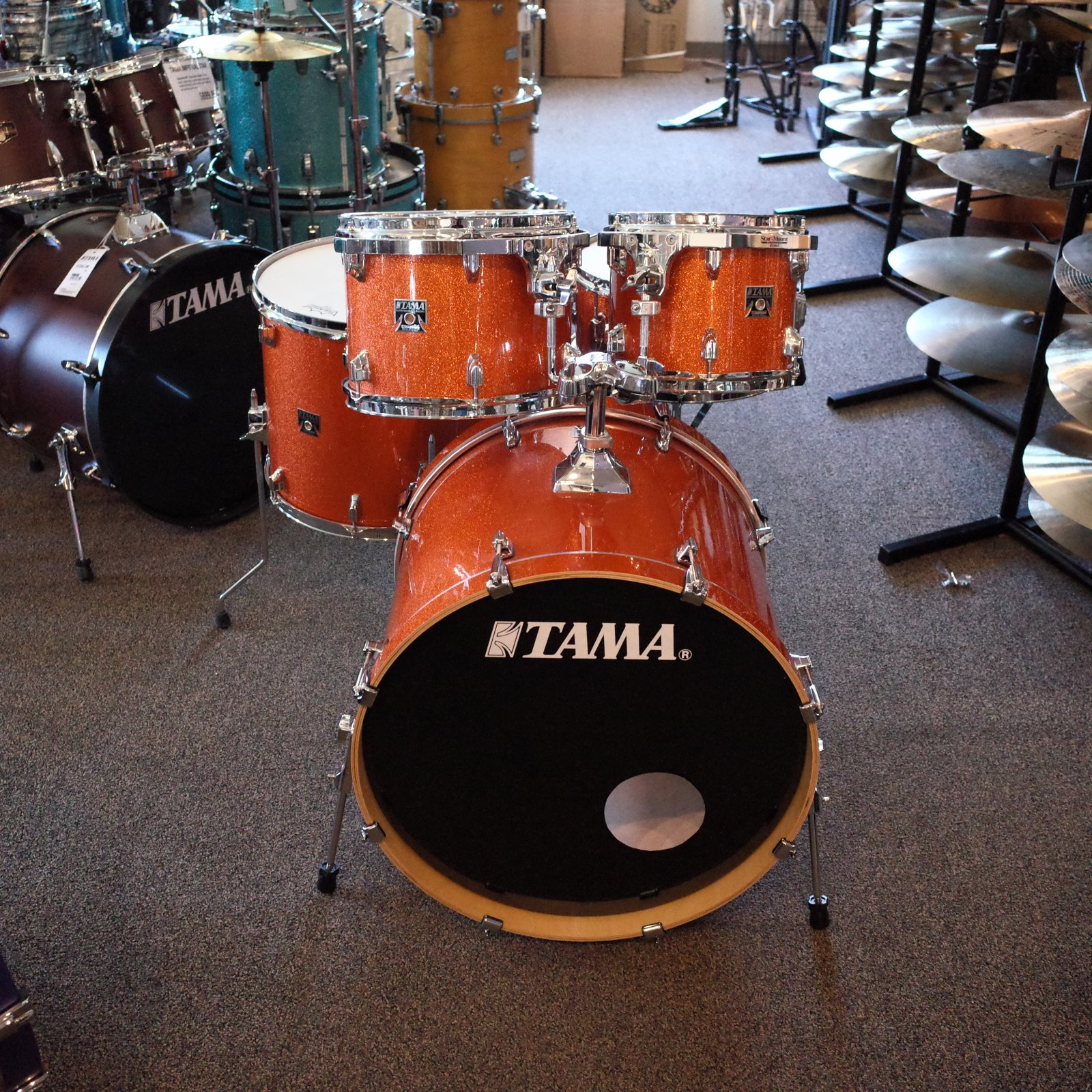Tama Superstar Classic - Bright Orange Sparkle (USED)