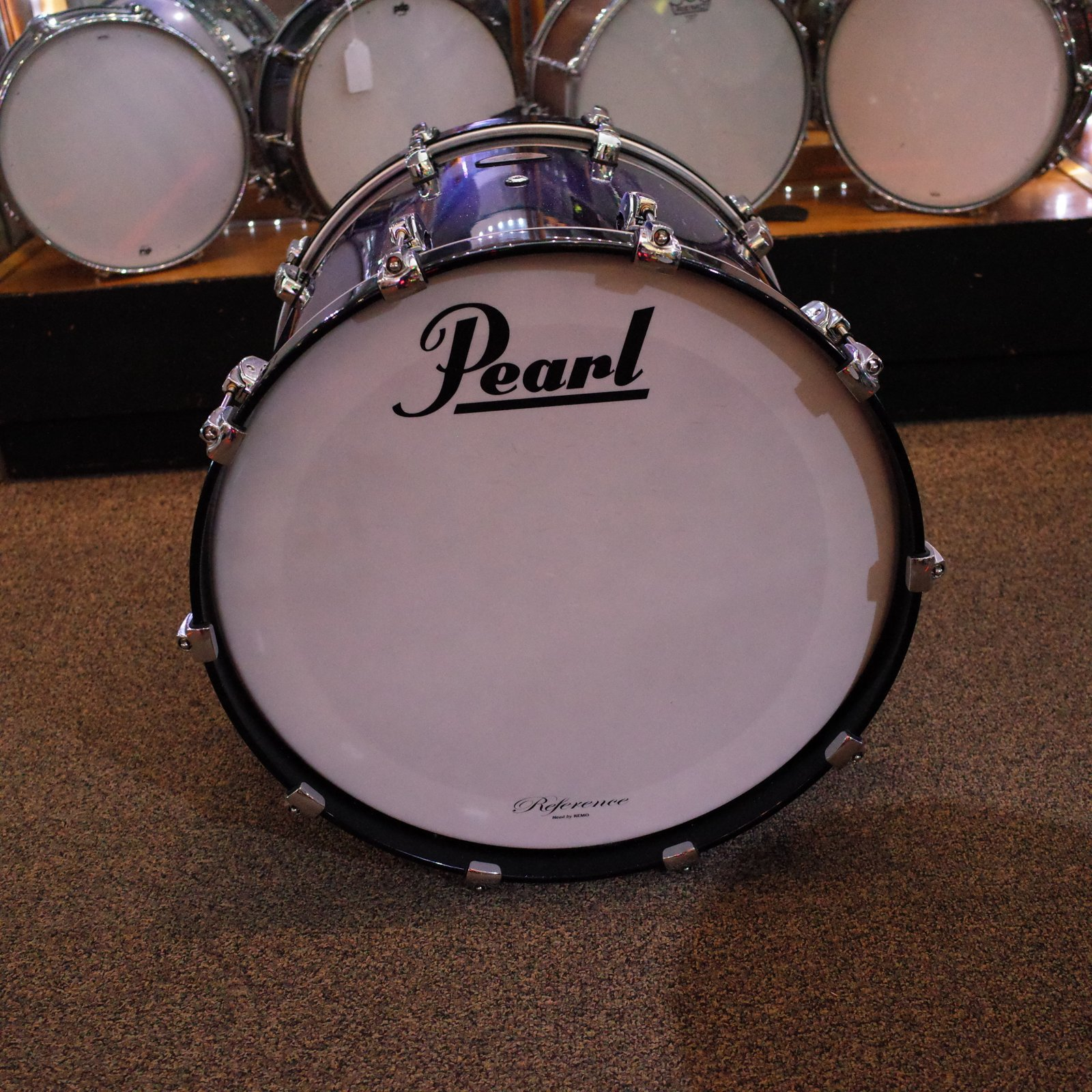 Pearl Reference 22x16 Bass Drum - Purple Craze (USED)