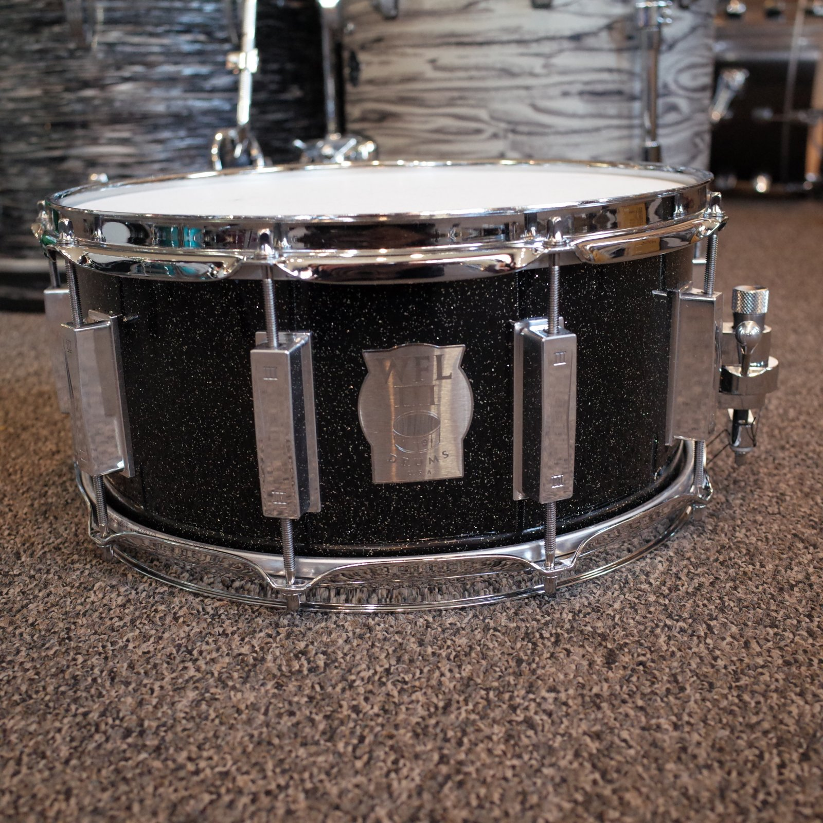 WFL III Aircraft Aluminum Snare 6.5x14 (USED)