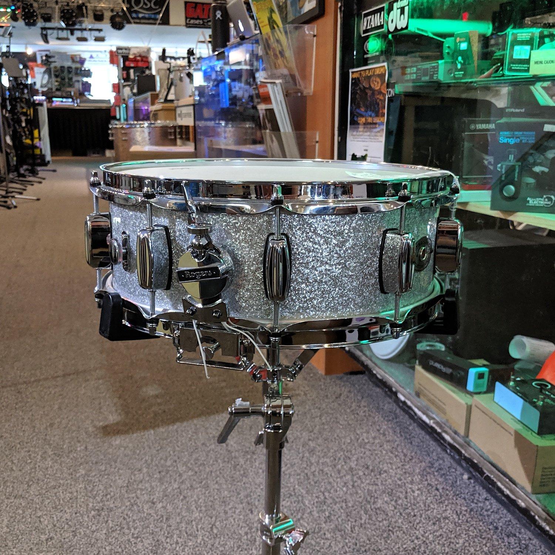 Rogers Dynasonic 14x5.5 Silver Sparkle
