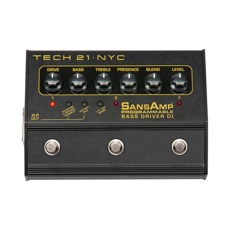 Tech 21 SansAmp Programmable Bass Driver DI